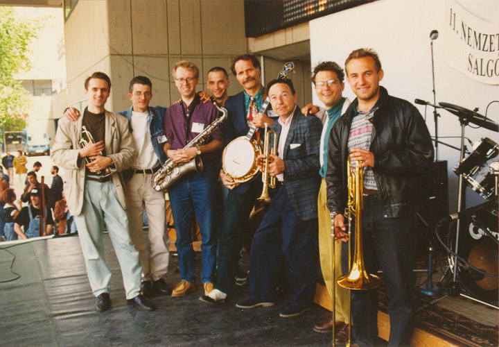 Tom Stuip, Irakli és a Hot Jazz Band 1996-ban
