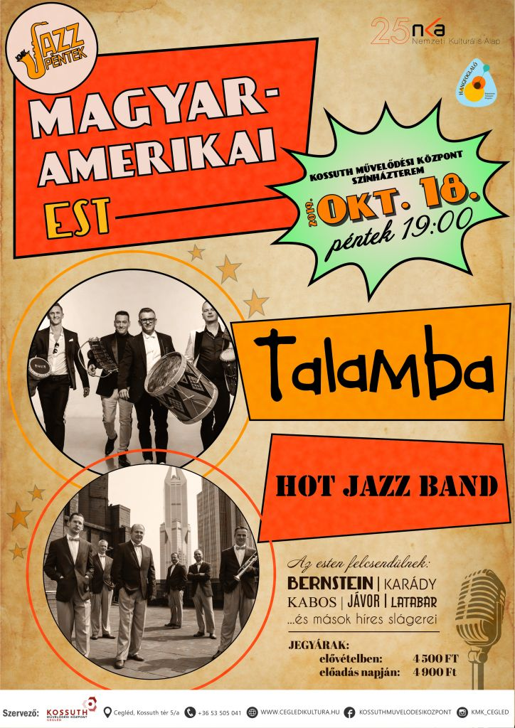Cegléd - Talamba, Hot Jazz Band 2019.09.18.
